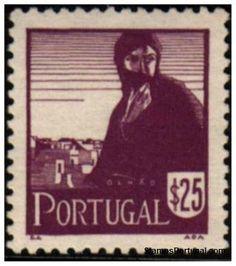 Selos - Afinsa nr 611 - Scott nr 609 - COSTUMES PORTUGUESES 1940