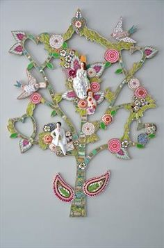 Love Letter Tree - Rah Rivers…another beautiful design starting w/ substrate