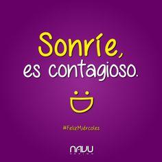 ¡#FelizMiércoles! ¡Sonrían! :D