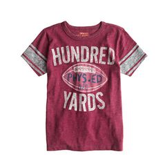 Boys' hundred yards tee