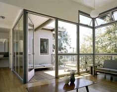 Wakeland/Garcetti Residence - Office View of Deck, Scrafano Architects | Remodelista Architect / Designer Directory
