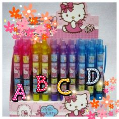 Spend $30, get a free hello kitty pen & other cute sweets!   http://www.etsy.com/shop/yelenasCraftsXO