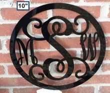 Small Monogram Wall Or Door Decoration Single Initial