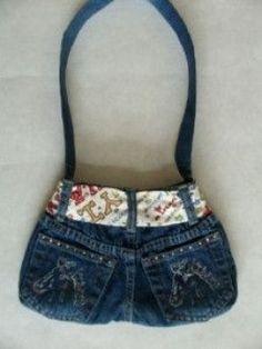 Denim Crafts: Old Jeans Crafts