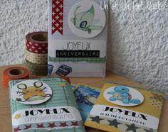 Pochettes pour cartes Pokemon (tuto inside)