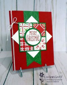 Cute Quilted Christmas card