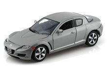 Motor Max 1/24 Scale Mazda RX-8 Grey Diecast Car Model 73323 - www.DiecastAutoWorld.com 2312 W. Magnolia Blvd., Burbank, CA 91506 818-355-5744 AUTOart Bburago Movie Cars First Gear GMP ACME Greenlight Collectibles Highway 61 Die-Cast Jada Toys Kyosho M2 Machines Maisto Mattel Hot Wheels Minichamps Motor City Classics Motor Max Motorcycles New Ray Norev Norscot Planes Helicopters Police and Fire Semi Trucks Shelby Collectibles Sun Star Welly