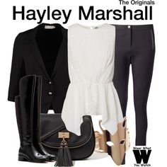 Inspired by Phoebe Tonkin as Hayley Marshall on The Originals.