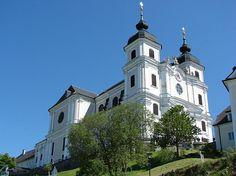 Sonntagberg (Amstetten) Niederösterreich AUT Salzburg, Austria, Places To Go, Europe, Mansions, House Styles, Bon Voyage, Last Minute Vacation, Ski Trips