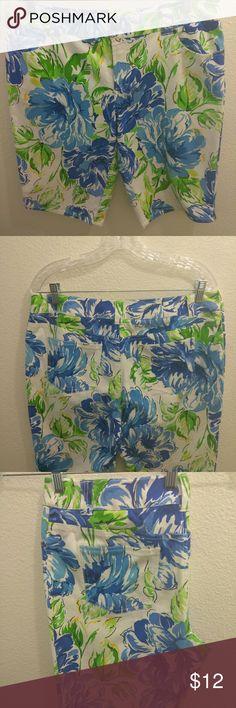For The Republic Bermuda shorts For The Republic Multicolored Floral Bermuda shorts For The Republic Shorts Bermudas