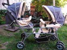 Alta calidad gemelas cochecitos para los niños, lindo bebé