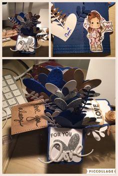 Chiacchiere Scrap: Box in a card