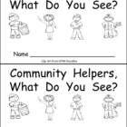 Community Helpers little book :)  $