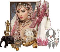 """Hindu Princess"" by deborah-simmons on Polyvore"