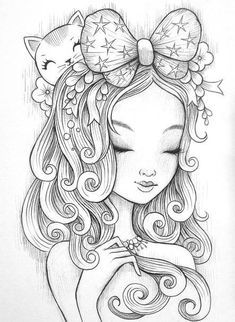 Cute Girl Coloring Sheets colouring pages for girls preschool cute anime chibi girl Cute Girl Coloring Sheets. Here is Cute Girl Coloring Sheets for you. Cute Girl Coloring Sheets cute chibi coloring pages page kids printable inside f. People Coloring Pages, Cute Coloring Pages, Coloring Pages For Girls, Coloring Pages To Print, Printable Coloring Pages, Free Coloring, Coloring Sheets, Coloring Books, Fairy Coloring