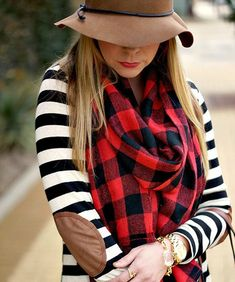 striped sweater with