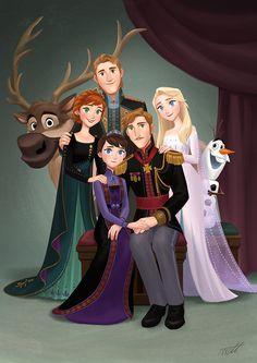 Frozen2 Royal Family Reunion by miacat7 on DeviantArt