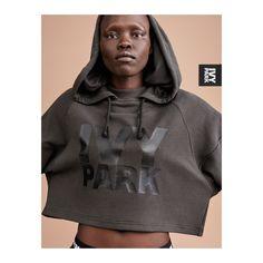 oversized Ivy Park Zip Through Hoody Sz S