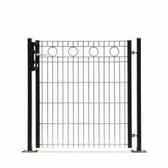 Design hekwerkpoort type Rome uit onze #Elegance programma: -Enkele poort 1010 mm doorgang*Hoogtes 800, 1000 en 1200 mm-Dubbele poort 3250 mm doorgang*Hoogtes 800, 1000 en 1200 mm-Kleuren mosgroen en antraciet  #www.zichtdicht.nl