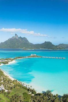 The St. Regis Bora Bora Resort—Aerial