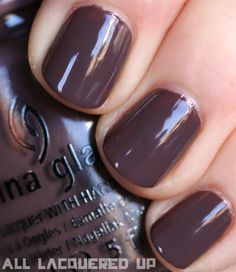 China Glaze Capitol Colours – The #Hunger Games #Nail Polish Collection Swatches- Foie Gras -District 10 - Livestock  #mauve