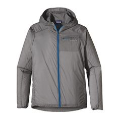 Patagonia Men's Houdini® Jacket - Feather Grey w/Andes Blue (FEAB) $99.00