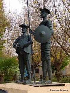 Don Quijote de la Mancha y Sancho Panza en La Gineta Albacete