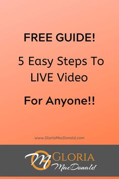 Getting in front of the camera is a scary experience for most people. Especially LIVE!!! But it doesn't have to be anymore. Here is an EASY and PROVEN 5 Step Formula To Live Video That Will Bring A Steady Stream Of Qualified Prospects Everyday