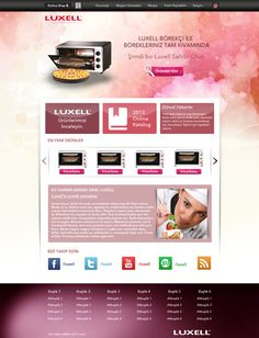 Luxell - Concept Web Design