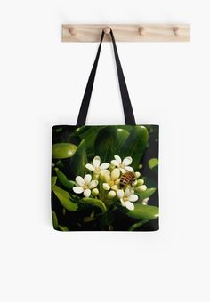 Honeybee at Her Springtime Work by Douglas E.  Welch on smartphone cases, tote bags, cards ands more!