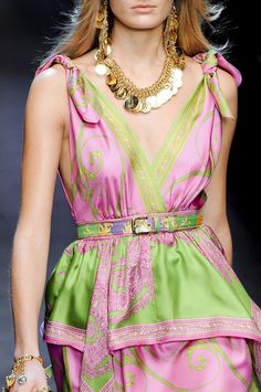 Love this dress - D+G Spring 2012