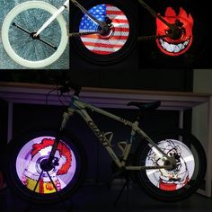 rogeriodemetrio.com: Xuanwheel S1 Bike Wheel LED - Bluetooth