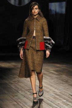 Prada Milan Fashion Week Fall 2013