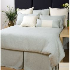 Charister Bliss Duvet Collection by Chairster / $249.99 at All Modern / fine matelasse