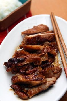 four-ingredient chicken teriyaki