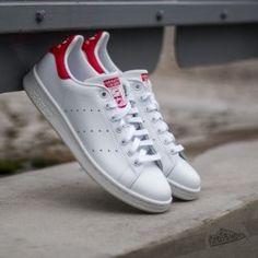 adidas Stan Smith Running White/ Running White/ Red