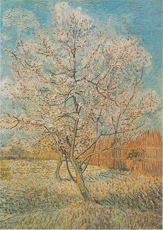 Vincent van Gogh's Flowering Orchards Series http://thebrushstroke.com/vincent-van-goghs-flowering-orchards-series/