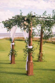 pergola wedding ceremony   Tim Will: