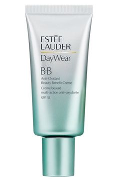 Est¨¦e Lauder DayWear Anti-Oxidant Beauty Benefit BB Creme Broad Spectrum SPF 35 - Estee Lauder - Beauty - Macy's Love this stuff Estee Lauder Produkte, Bb Cream For Oily Skin, Creme, Beauty Base, Beauty Full, Foundation, Neiman Marcus, Nordstrom, Packaging