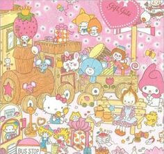Hello kitty and friends!