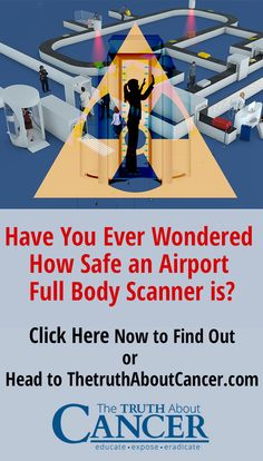 """The Transportation Security Administration (TSA) claims their """"advanced imaging technology"""" devices are just as safe as traditional metal detectors. Is that true? Click on the image to learn what the research says."""