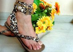How to Make Tie-up Flip-Flops: DIY