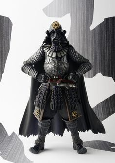 Star Wars finds itself transported back in time to Feudal Japan with the Star Wars Movie Realization Action Figures from Bandai Japan! Vader Star Wars, Star Wars Art, Darth Vader, Statues, Jouet Star Wars, Dc Comics, Star Wars Figurines, Real Model, Marvel