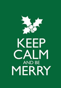 Keep Calm and Be Merry Poster - Poster #keepcalm #coupons