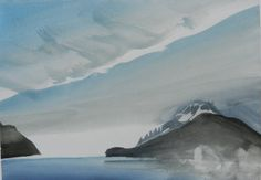 Artist: Toni Onley, Title: Chehalis Lake, B.C. - click for larger image