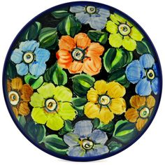 Polish Pottery 8-inch Plate | Boleslawiec Stoneware | Polmedia H8920C