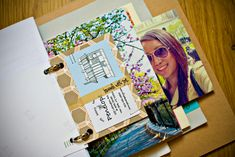 #5. Or Create a Travel Scrap Book. Paste airfare tickets, boarding passes, hotel receipts and photos!