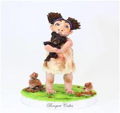 Sandy Wild Child 3D Cake