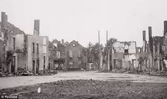 Oradour-sur-Glane, France, every building destroyed, June 10, 1944