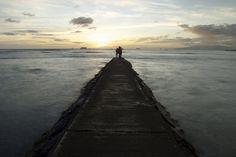 A long pier in Waikiki. #jadennyberg #sunset #Hawaii